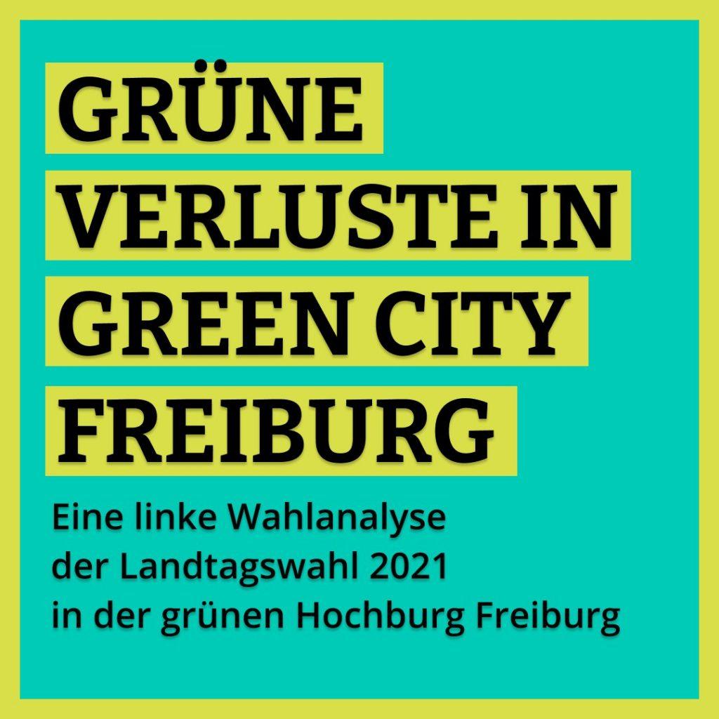 Foto Wahlanalyse Freiburg